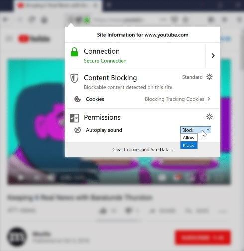 Firefox, otomatik olarak açılan videoları engelleyecek