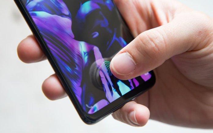 Galaxy S10 parmak izi okuyucusu
