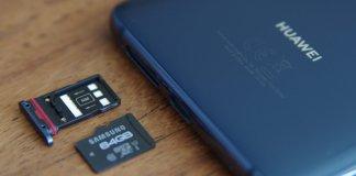 Huawei microSD
