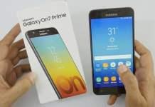 Galaxy On7 Prime için Android Pie