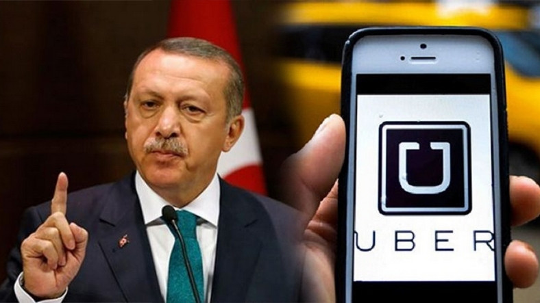 Cumhurbaşkanı Recep Tayyip Erdoğan Uber'i üzecek!