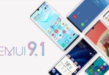 EMUI 9.1 alacak Huawei