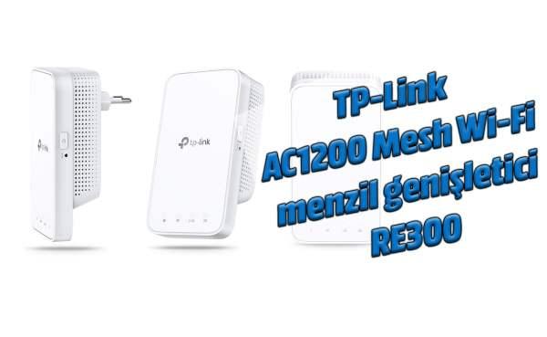 TP-Link AC1200 Mesh Wi-Fi menzil genişletici RE300