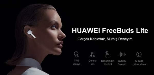 Huawei Freebuds Lite - Kablosuz kulakiçi kulaklık inceleme