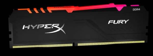HyperX Fury DDR4 RGB ile renkli ve yüksek performans mümkün
