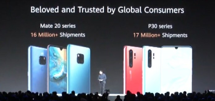 Huawei P30 ve Mate 20