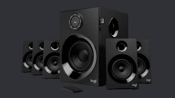 Logitech Z607 5.1 ses sistemi: Kolay kullanım, kaliteli ses!