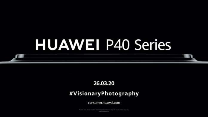 Huawei P40 ailesi