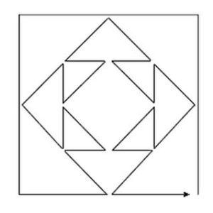 Solução do desafio 16 - Traçando linhas Dona Sebenta