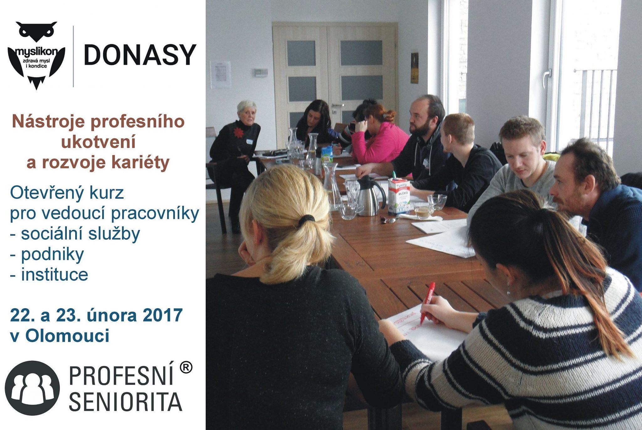 Profesní seniorita – otevřený kurz v únoru 2017