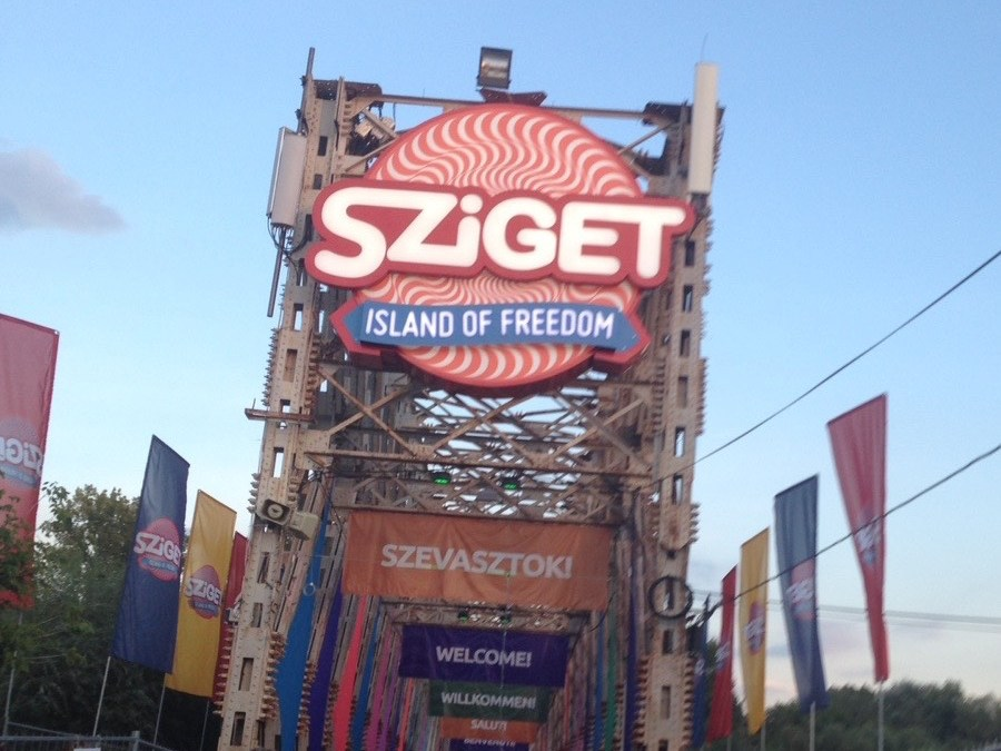 Sziget Festival in Budapest – first party then criminal procedure