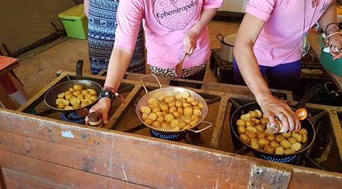 Have a potato eating competition?