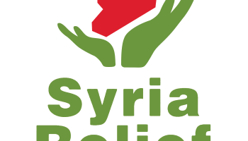 the logo of Syria Relief