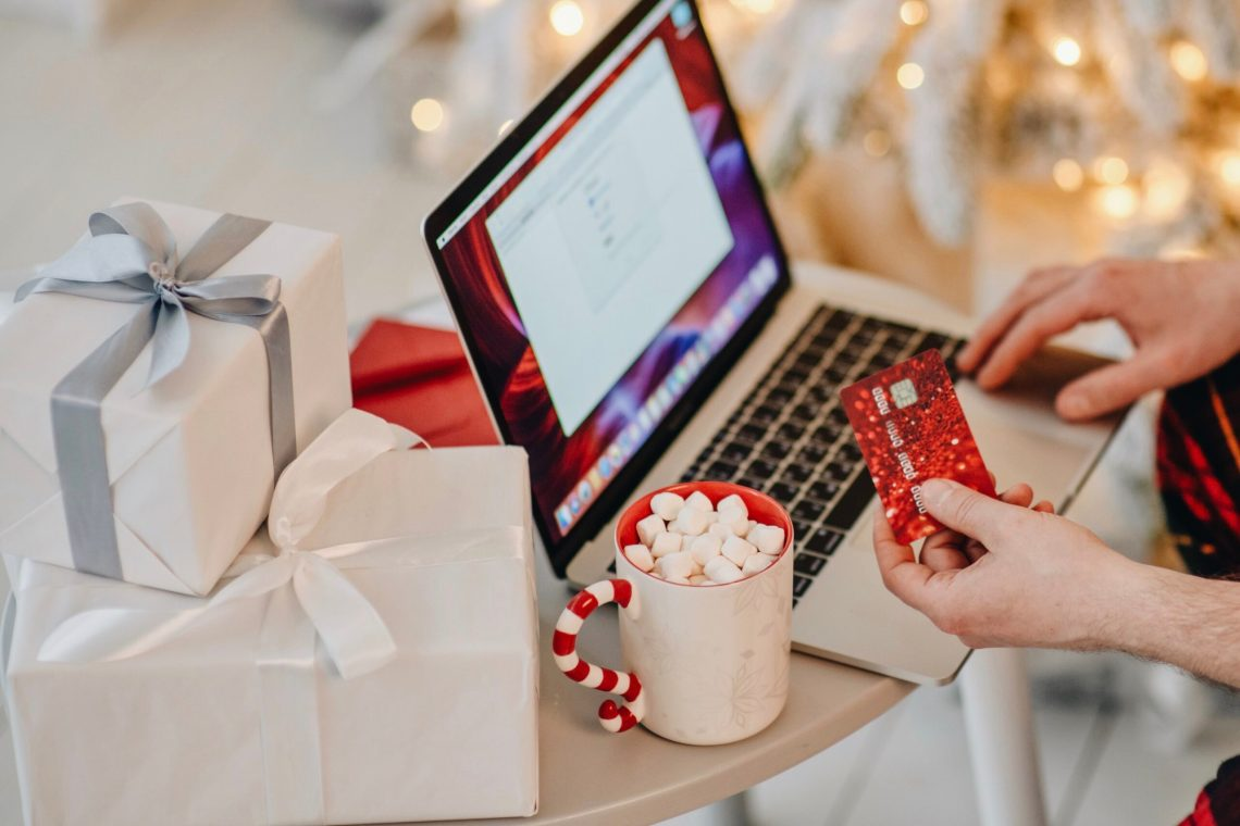 buying gifts and toys online with credit card
