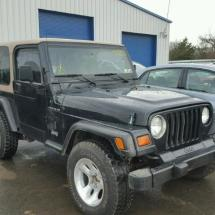 Donated 1999 JEEP WRANGLER S 2.5L