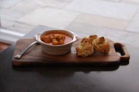 donatella arpaia recipe for garlic knots and tomato soup