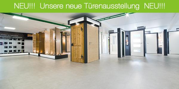 Neue Türenausstellung Donau Holz Fachmarkt Ingolstadt