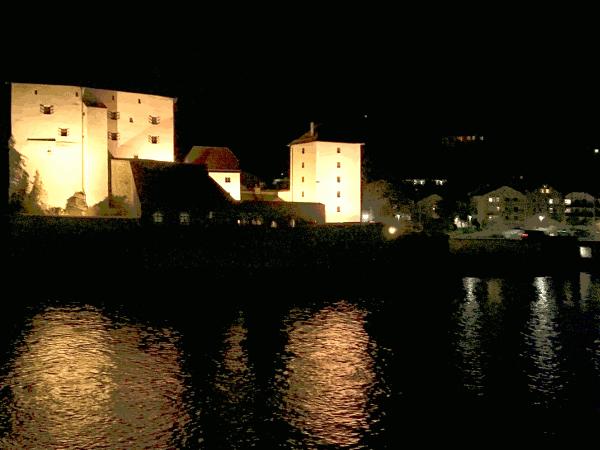 Auf der Landzunge des Zusammenflusses von Ilz und Donau wurde um das Jahr 737 eine Wohnstätte für den ersten Passauer Bischof Vivilo und einige Klosterfrauen errichtet. Die heutige Veste Niederhaus, eine Wasser Burg der Passauer Altstadt, wurde um das Jahr 1250 errichtet. Im großen Kellergewölbe der Veste Niederhaus wurde um das Jahr 1350 eine Herberge für arme Pilger eingerichtet. Heutzutage ist die Veste Niederhaus als einer der exklusivsten Wohnkomplexe der Stadt Passau mit zwölf ganz besonderen Wohneinheiten ausgestattet.
