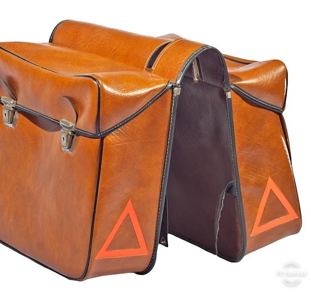 Gepäcktransport mit Fahrradtaschen