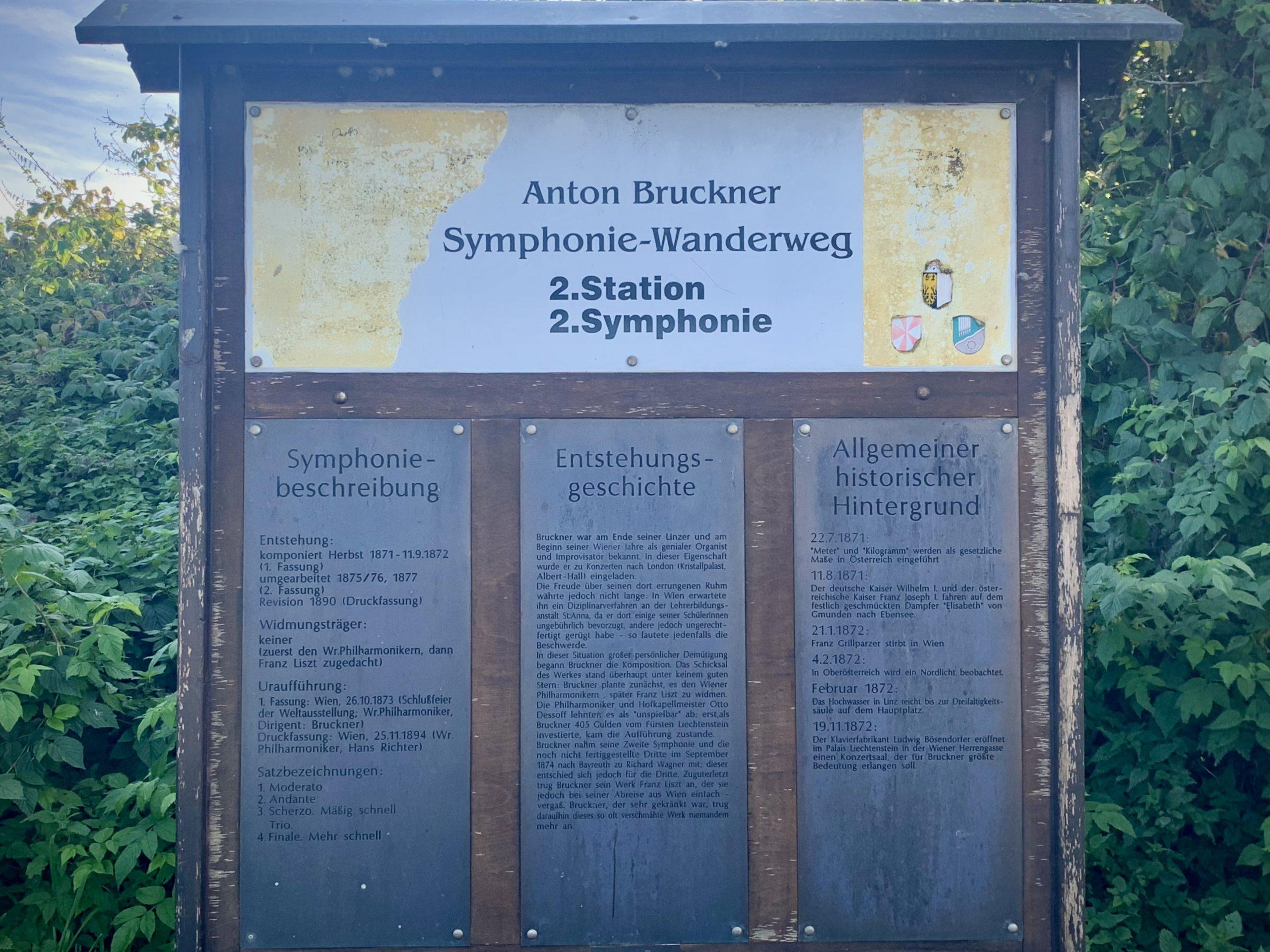 Anton Bruckner Symphonie-Wanderweg