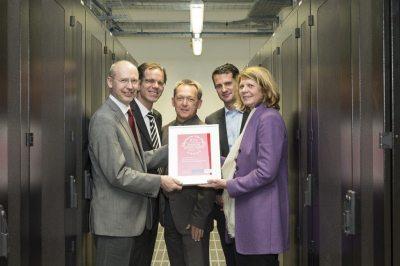 Rechenzentrum der Stadt Wien nach eco Datacenter Star Audit 3.0 zertifiziert