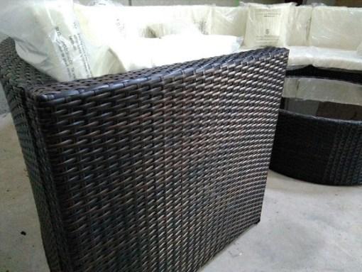 Rattan. Conjunto de jardín - sofá y mesa - Ibiza