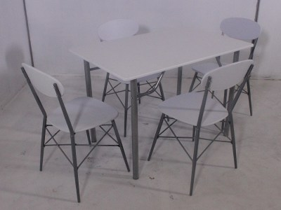 Dining Set - Table and 4 Chairs - Familio