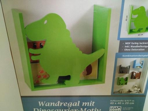 Estantería para niños - Dinosaurio