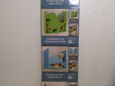 Children's Shelves Set of 4 - Animales