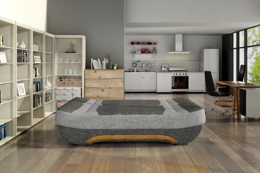 Modo cama. Sofá Cama Plegable Compacto - Olivia