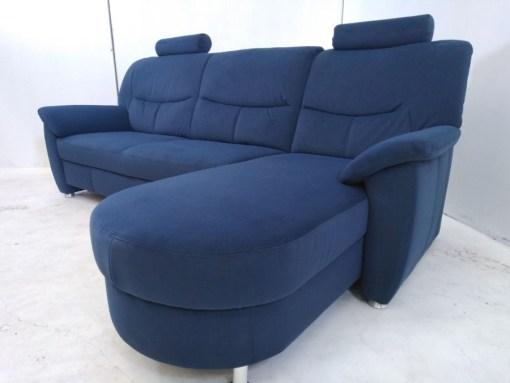 Sofá azul con chaise longue - Claudia