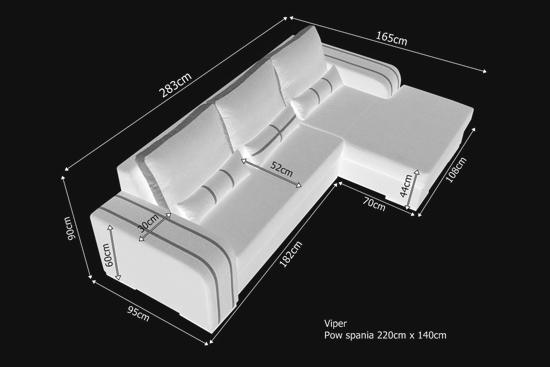 Sof chaise longue cama gris con cojines y arc n jamaica - Medidas de cojines ...