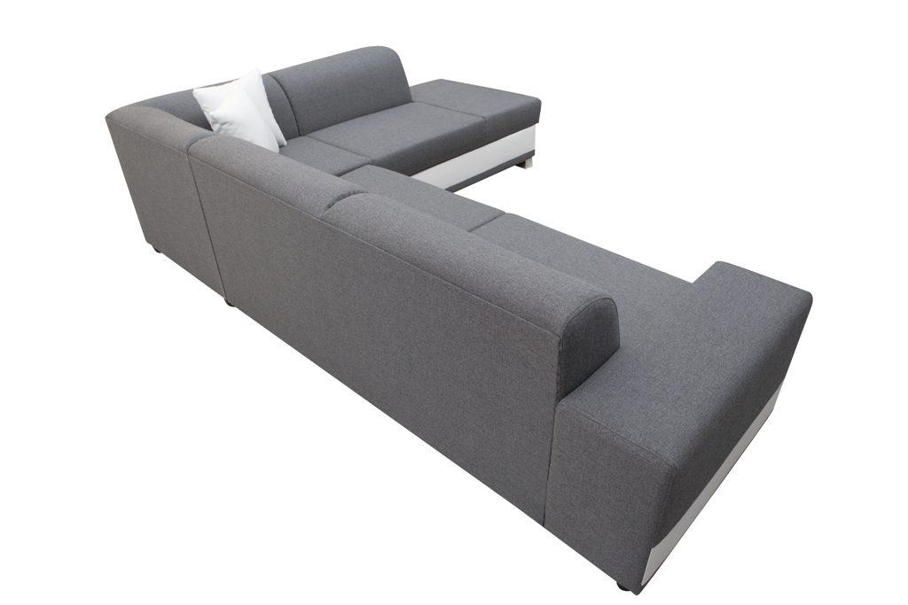 Modern corner sofa bed with cushions - Barbados - Don Baraton