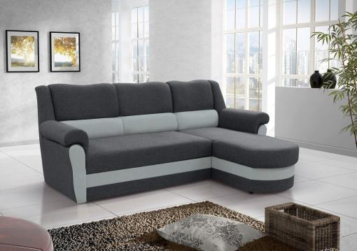 Chaise Longue Sofa Bed with High Backrest (Right Corner) - Parma