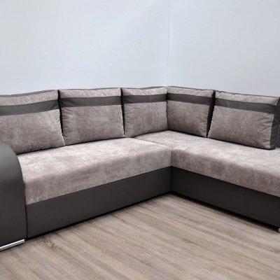 Раскладной угловой диван-кровать (правый угол) - Bologna