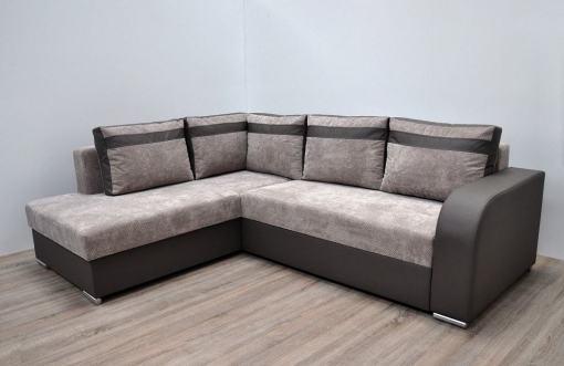 Sofá rinconera cama moderno con arcón. Esquina izquierda - Bologna