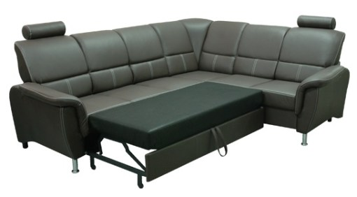 Cama abierta. Sofá rinconera cama con reposacabezas reclinables - Navagio