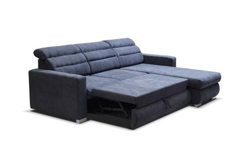 Cama. Sofá chaise longue cama con reposacabezas reclinables. Chaise longue derecha - Victoria
