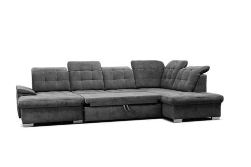 Cama. Sofá en forma de U con reposacabezas reclinables - Toronto. Esquina al lado derecho