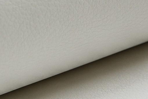 Piel sintética de color blanco del sofá modelo Kingston