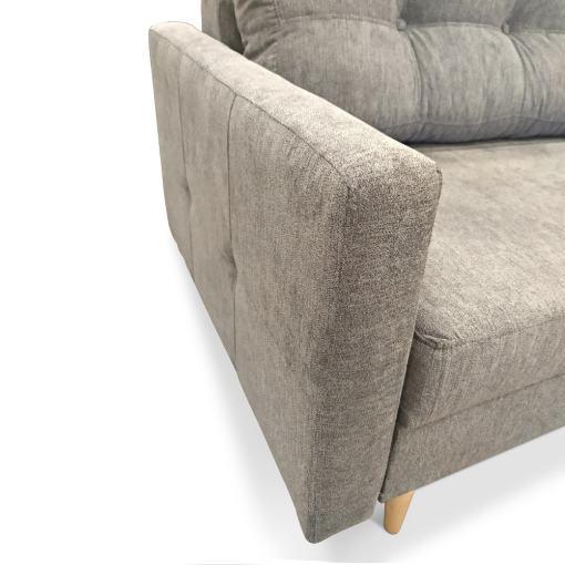 Узкие подлокотники. Диван-кровать в скандинавском стиле - Halmstad