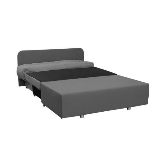 Convertido en cama. Sofá 2 plazas sin brazos cama - Requena