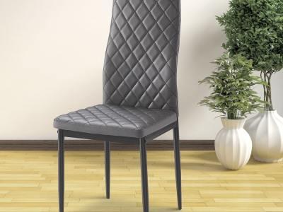 Silla con asiento y respaldo acolchonado - Tibi