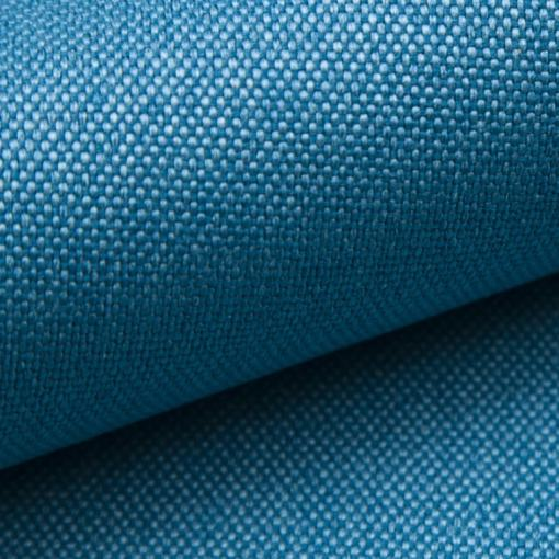 """Blue (""""Ocean"""") Fabric of the Tarancón Sofa"""