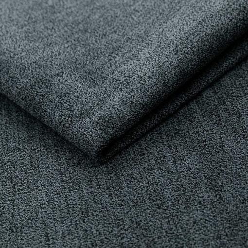 Tela de felpa microfibra color gris oscuro del sofá modelo Halmstad