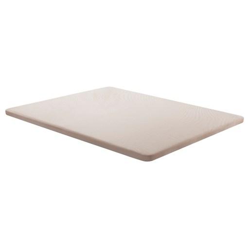 Base tapizada 150 x 190 cm, color beige, sin patas - Bazio