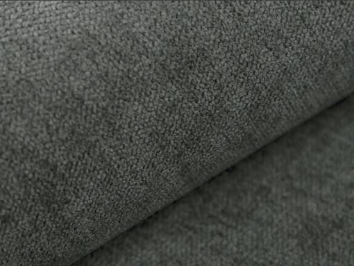 Tela color gris oscuro (Rico 23). Sofá cama Lorca