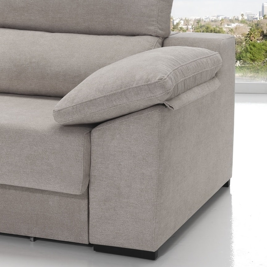Chaise Longue Sofa Bed With Sliding Seats Alicante Don