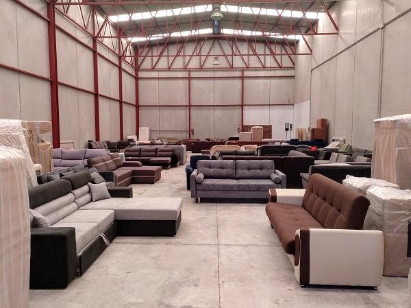 Tienda de sofás, colchones, camas y muebles en Almoradí (Alicante), interior - Don Baraton