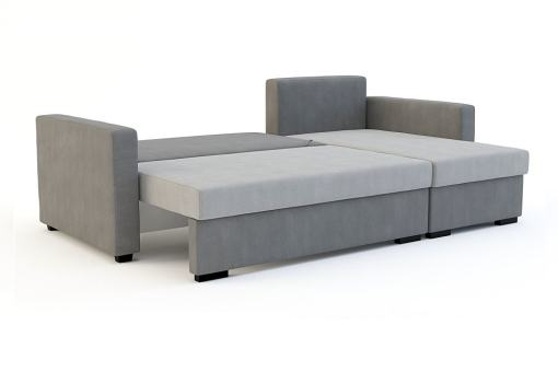 Unfolded Into Bed. Chaise Longue Sofa Bed Edmonton.